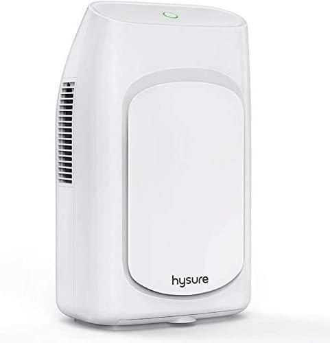 Hysure Dehumidifier,700ml Compact Deshumidificador