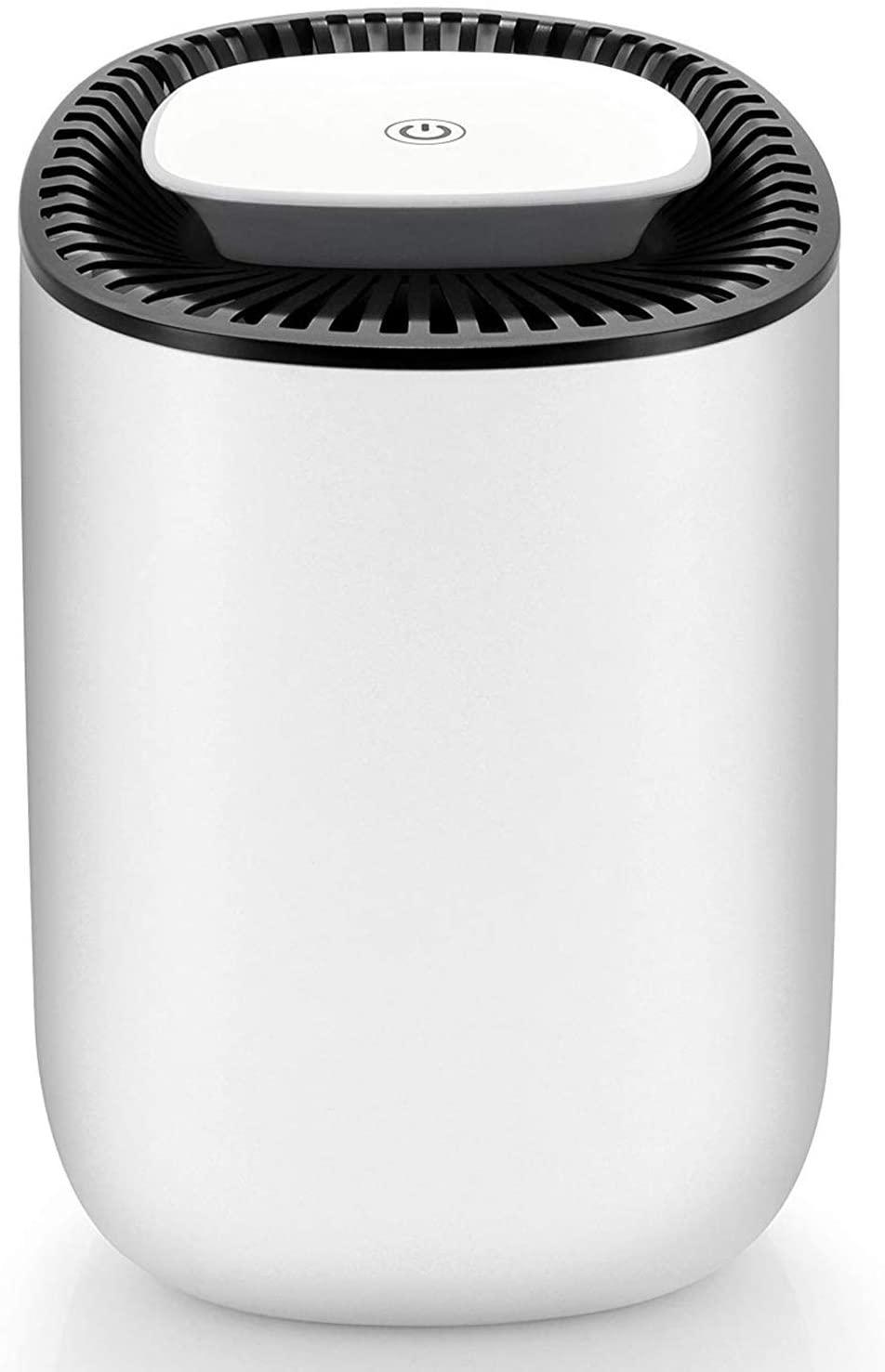 hysure Quiet and Portable Dehumidifier Electric, Crawl Space, Bedroom, RV, Baby Room (600ml)