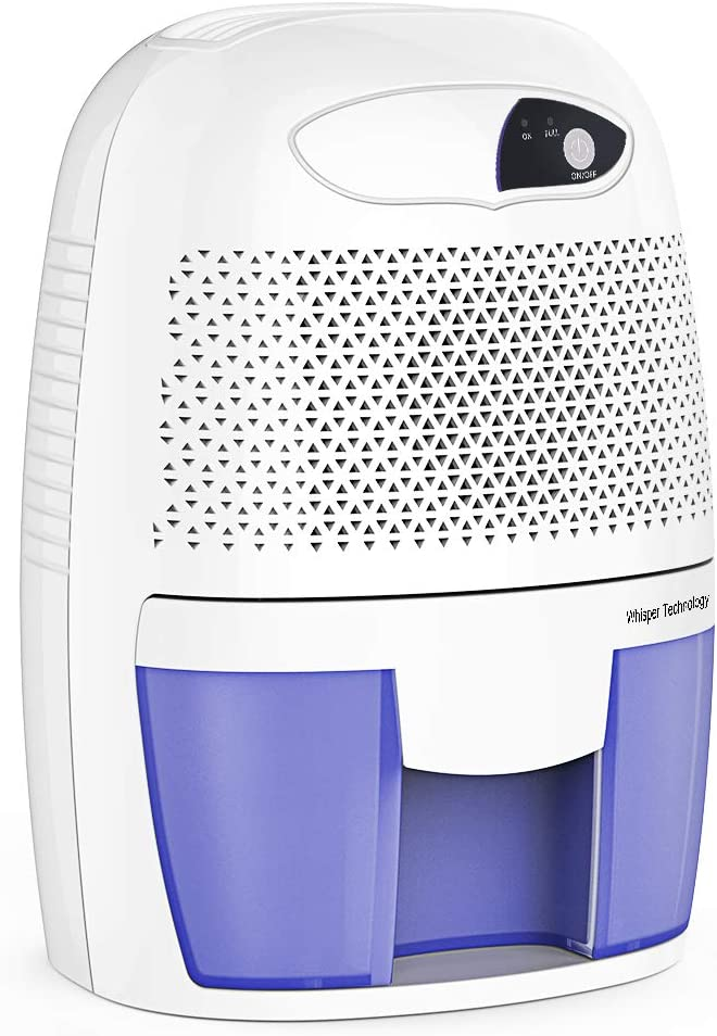 hysure Portable Mini Dehumidifier 2201 Cubic Feet Electric Safe Dehumidifier