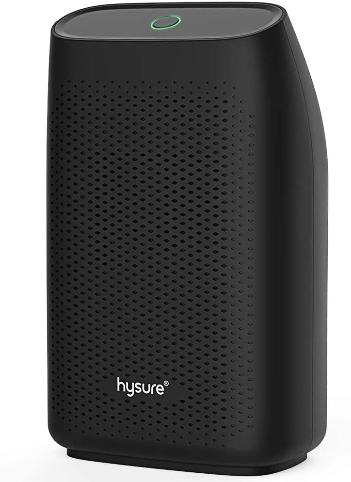hysure Dehumidifier,700ml Compact Deshumidificador 1200 Cubic Feet(215 sq ft) Dehumidifier
